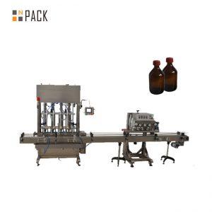Tappatrice automatica di plastica del coperchio della bottiglia dell'ANIMALE DOMESTICO del tappatore del fuso