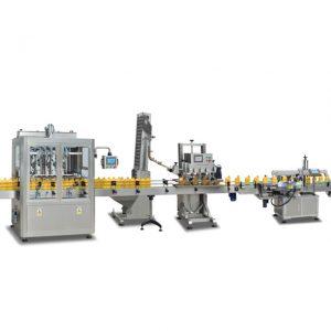 Riempitrici di bottiglie sus304 completamente automatiche 2 in 1 per la produzione di olio d'oliva