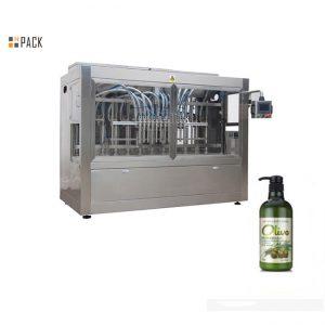 Riempitrice automatica completa di shampoo per il bagno in bottiglia